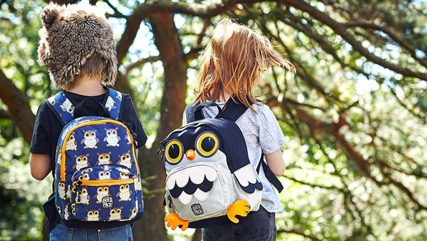uilen rugtas, Owl Backpacks, rugtas jongens, kinderrugtassen
