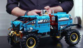 lego technic all terain, lego speelgoed, technisch speelgoed, jongensspeelgoed