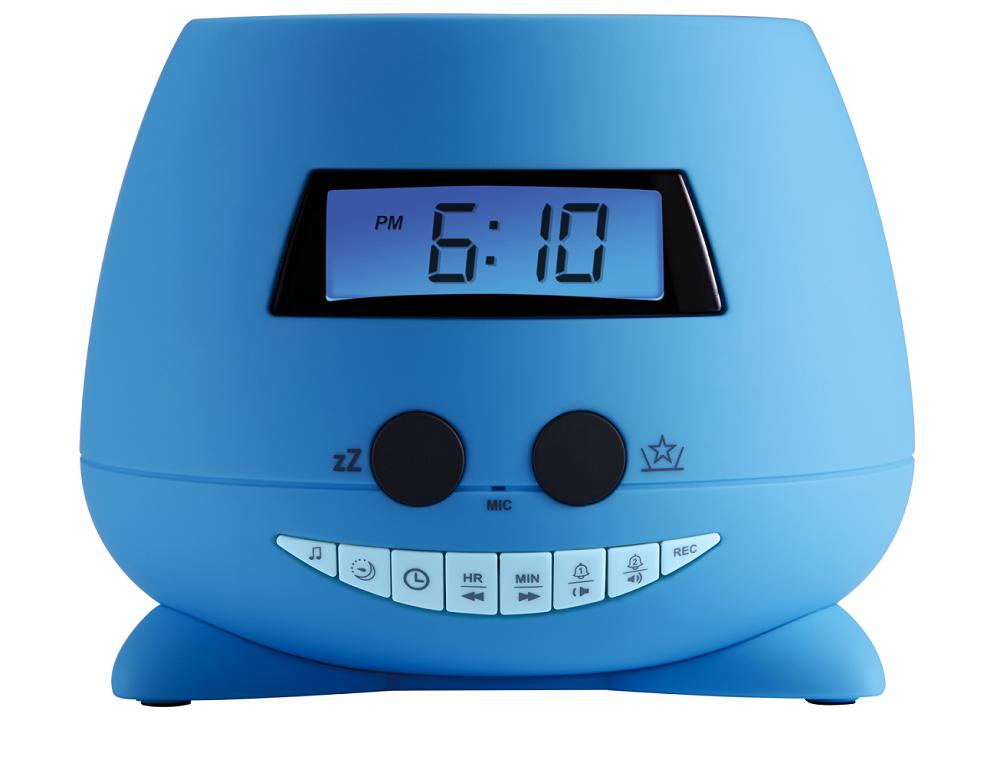 Kinderwekker Met Licht : Leren uitslapen met wekkerradio voor kind boyslabel