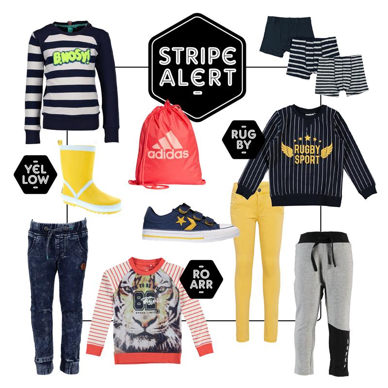 Get the look jongens, OOTD, boyslabel, stripes