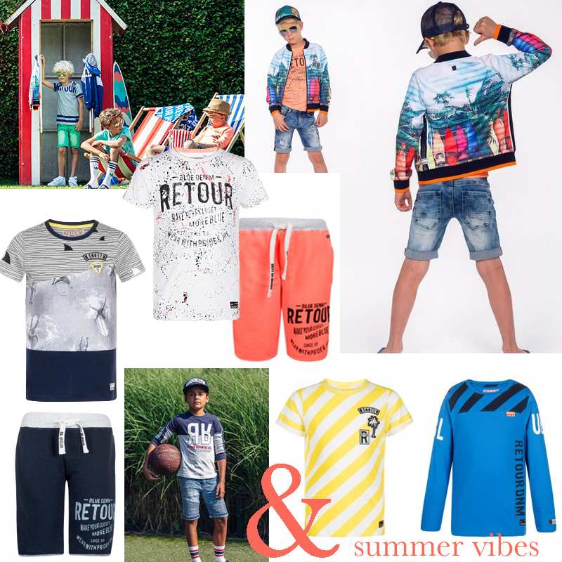 retour kinderkleding, retour jeans zomer 2018, jongenskleding, zomerkleding, Jongenskleding sets