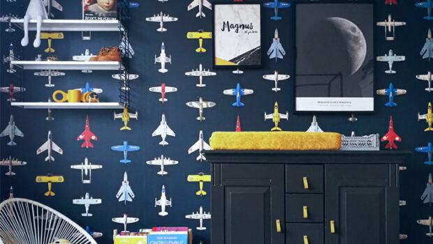 vliegtuigkamer, vliegtuigbehang