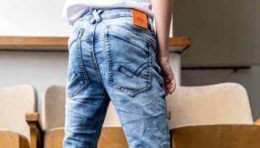 broek met slijtvaste knieen, Dutch dream-denim, spijkerbroek