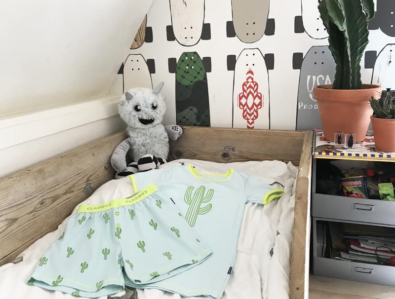 claesens pyjama, jongenspyjama, kinderpyjama, zomerpyjama