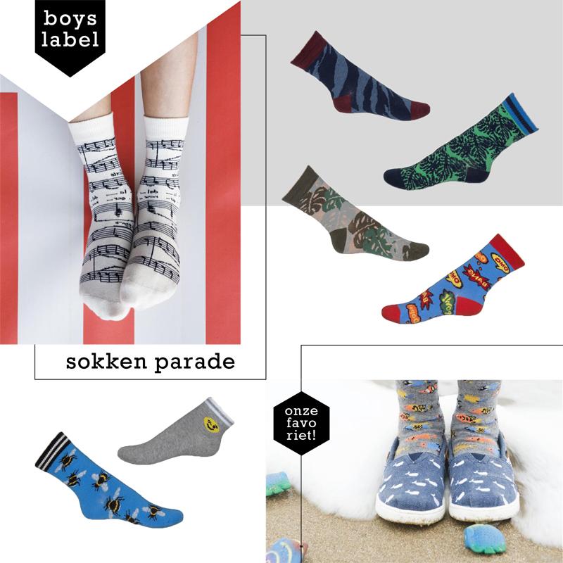 jongens sokken, bonnie doon, happysocks