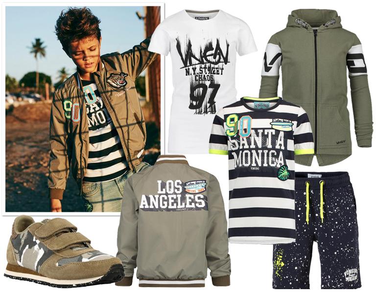 populaire jongenskleding merken, vingino, zomerkleding jongens