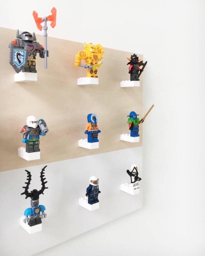LEGO wandplaat, LEGO wandrek, legokamer, jongenskamers
