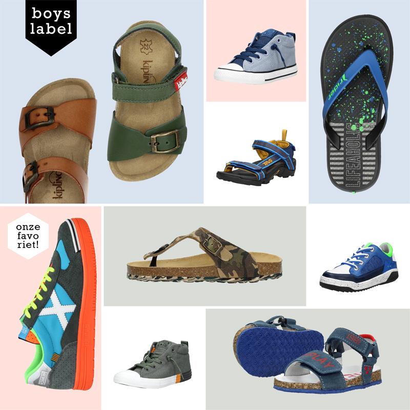 Schuurman schoenen, kinderschoenen, zomerschoenen kinderen, jongensschoenen, jongenssandalen