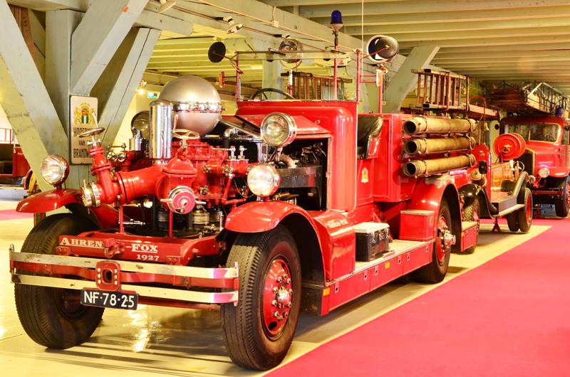 brandweermuseum, leuk voor jongens, jongensuitje