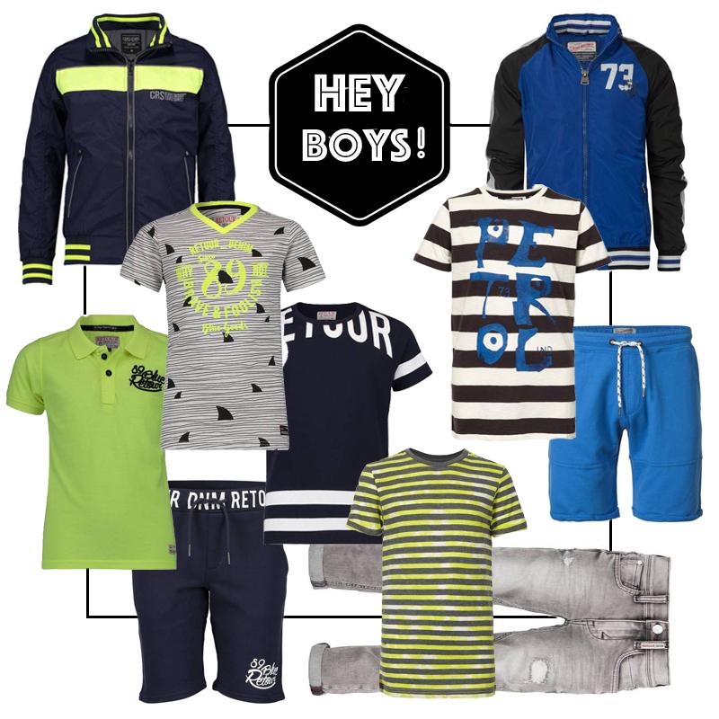 stoere jongenskleding, get the look jongens kleding