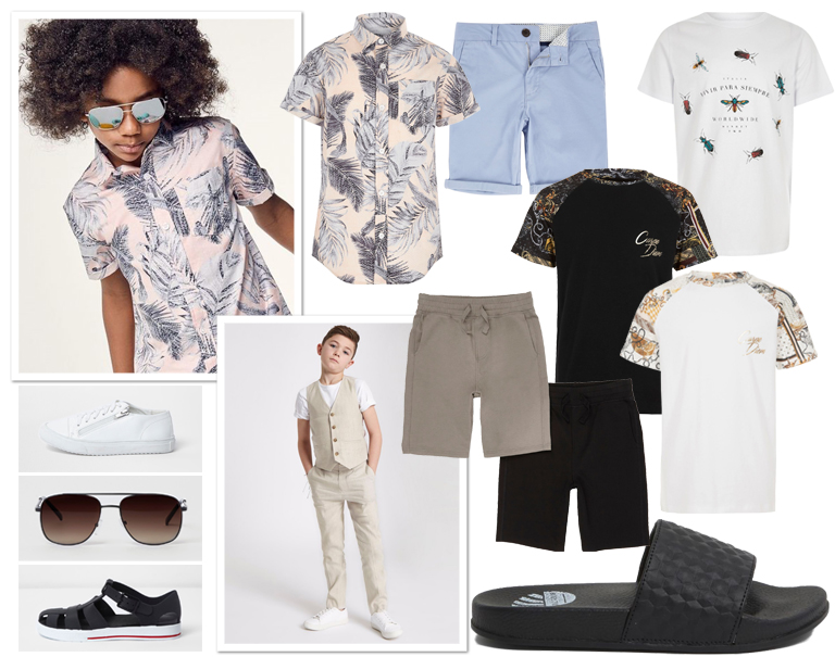 trendy jongenskleding, river island, betaalbare jongenskleding, zomerkleding jongens