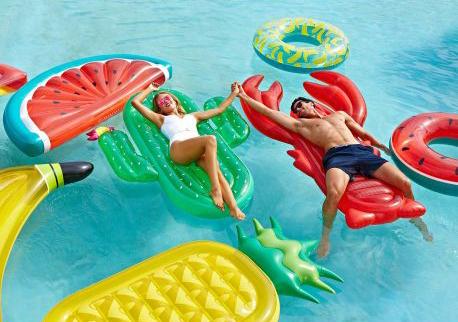 hippe-luxe-opblaasbare-cactus-luchtmatras, zomerspeelgoed, waterspeelgoed