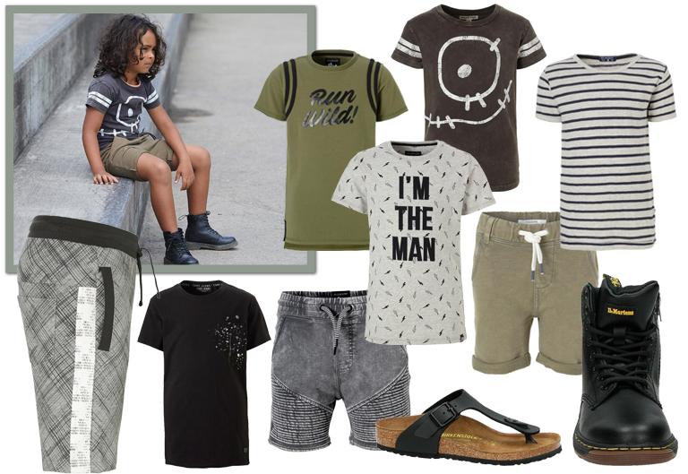 kinderkleding zomer, zomerkleding jongens, zomer outfits jongens, kindermode zomer 2018, Jongenskleding sets
