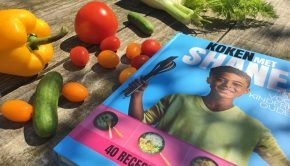 koken met shane kluivert, koken met shane, kinderkookboek