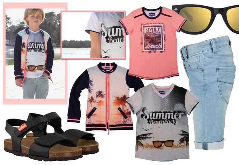 legends 22, zomerkleding jongens, vakantie kleding kind, kinderkleding zomer