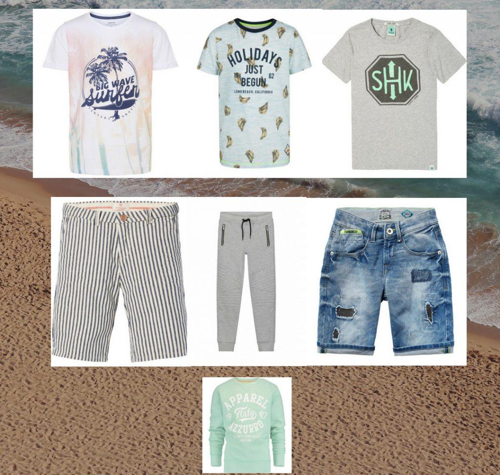 vakantie kleding jongens, jongens vakantie outfit, zomerkleding jongens, zomerkleding sets jongens