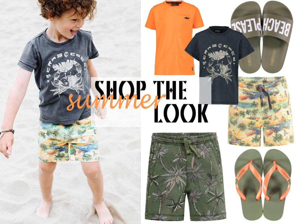 zomerkleding jongens, zomerkleding kind, tumble n dry kinderkleding, zomeroutfit kind, strandkleding jongen