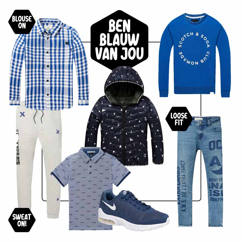 Amsterdams Blauw, Scotch Soda, mode 2018, Boyslabel
