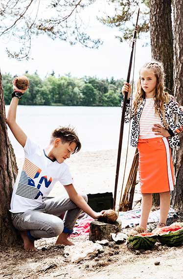 indian blue jeans zomer 2018, bomont, hippe kinderkleding, zomerkleding kinderen