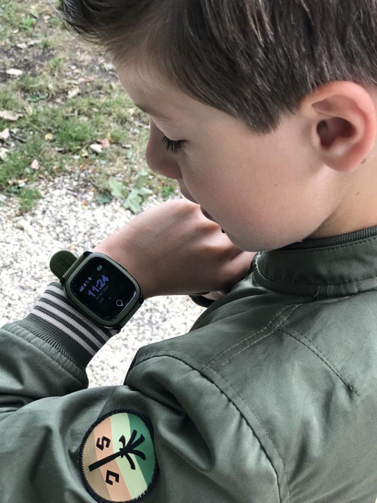 GPS kinderhorloge, stappenteller, stoer jongenshorloge, boyslabel