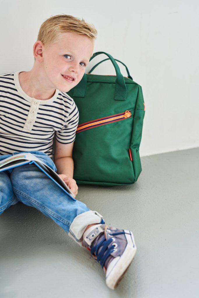 Rugzak Zipper Engel, kinderrugtas, rugtassen voor jongens