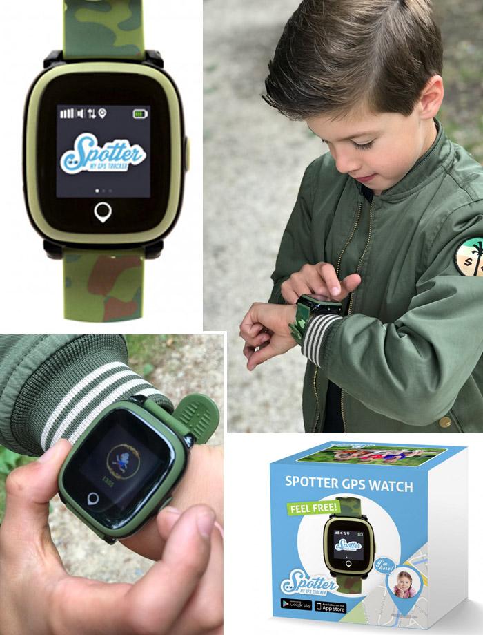 spotter GPS horloge, GPS kinderhorloge, kinderhorloge