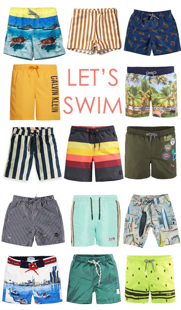 zwemkleding voor jongens, zwemshorts jongen