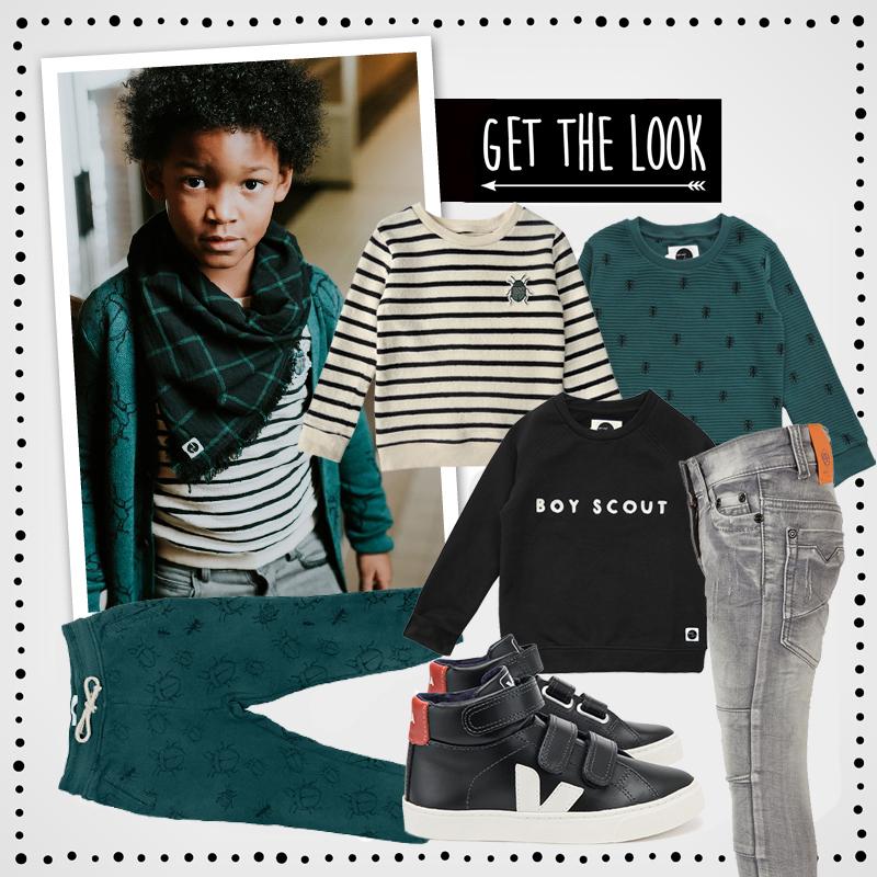 Back to School outfits , get the look, urban kinderkleding, kindermodew winter 2018, hippe jongenskleding