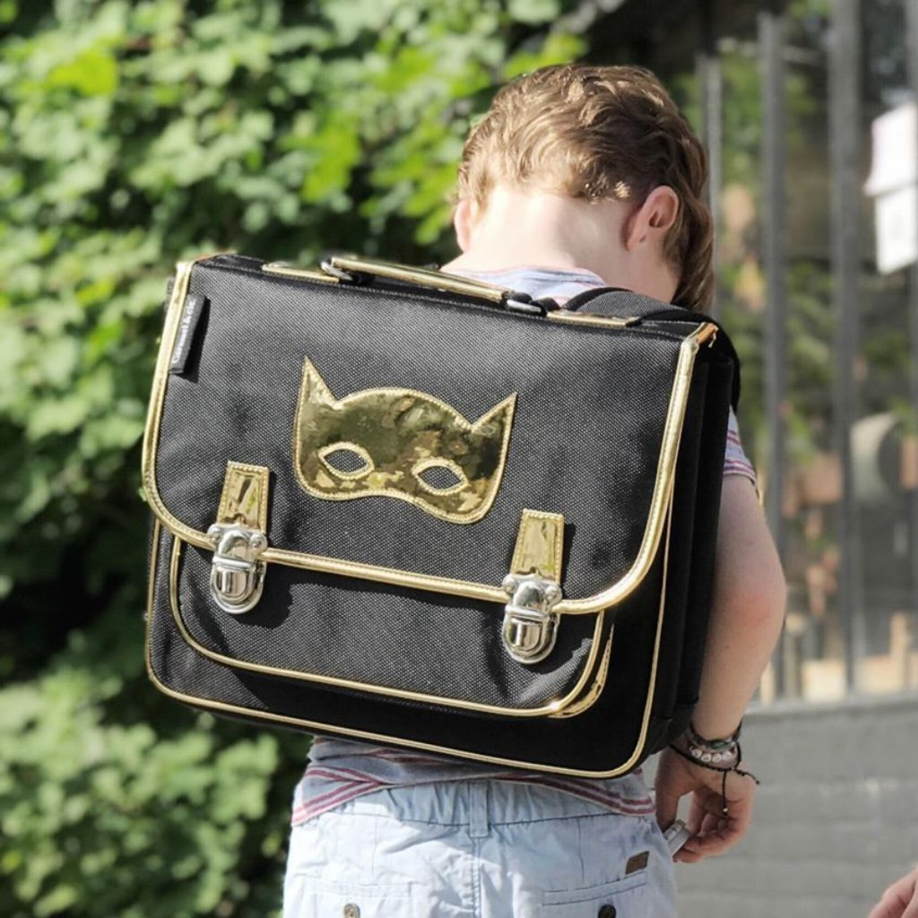 back to school musthaves, stoere jongens boekentas, super Hero tas