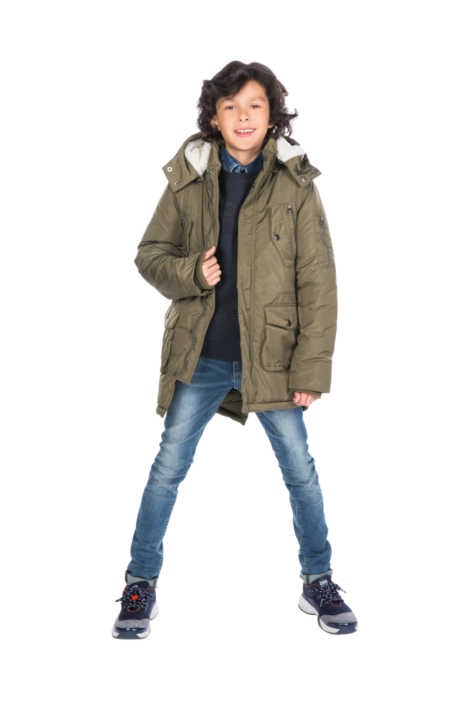 jongens winterjas, parka jas jongens , jongensjassen winter 2018-2019, Indian blue jeans jas