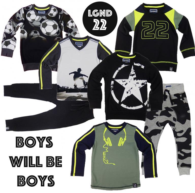 LEGENDs22, legends 22, jongenskleding, boys will be boys, boyslabel