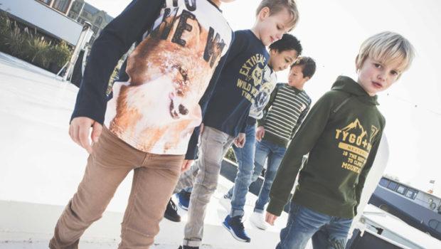 jongenskleding, jongenskleding wild life, dierenprints, sweater met wolf, tygo vito 2e levering