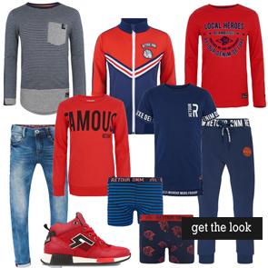 Get the look jongens kleding, indian blue jeans, sportieve jongenskleding, tienerkleding