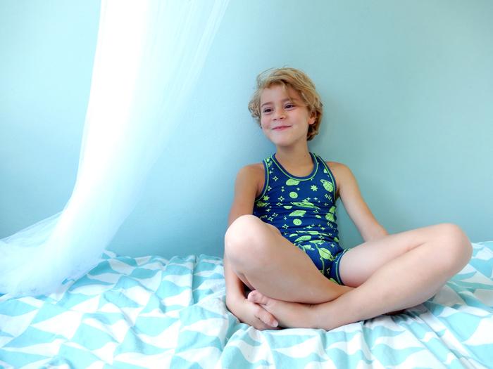 Claesens ondergoed, glow in the dark ondergoed, jongensondergoed