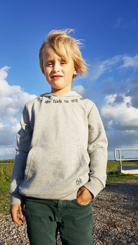 grijze hoodie, jongens sweater, jongens trui