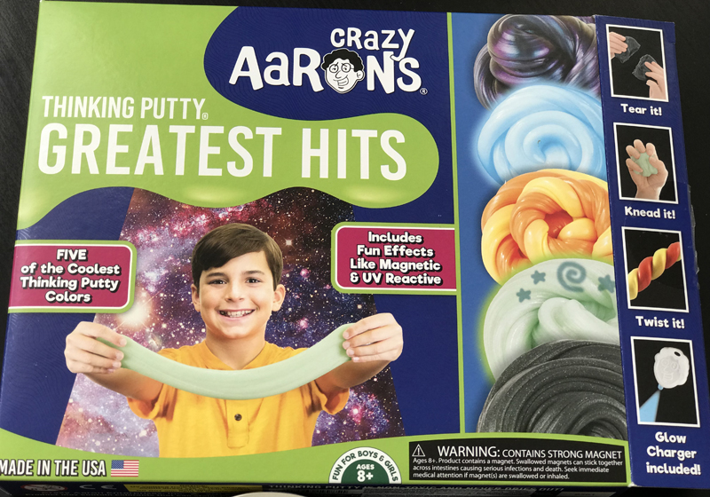 Crazy Aaron Intelligent Putty, Crazy Aaron putty