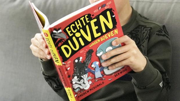 Echte duiven vangen boeven, kinderboek