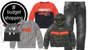 buget shopping, goedkope jongens kleding