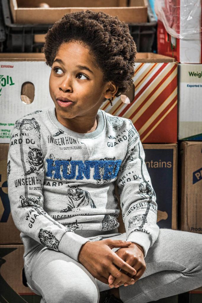dj dutch sweater, sweater met dierenprint, sweaters voor jongens