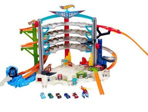 hotwheels garage, jongensspeelgoed, speelgoed voor jongens