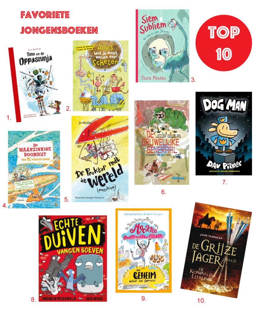 jongensboeken, kinderboekenweek 2018, kinderboeken, jongensboek top10