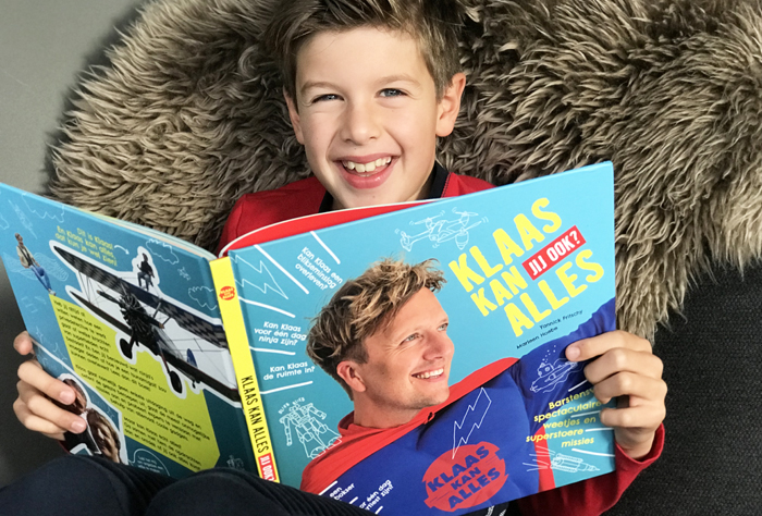 klaas kan alles boek, boyslabel, kinderboeken review
