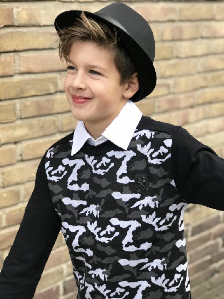 Klassieke jongenskleding, LCEE, jongenskleding, winter 2018-2019, kindermodeblog, jongenssweater