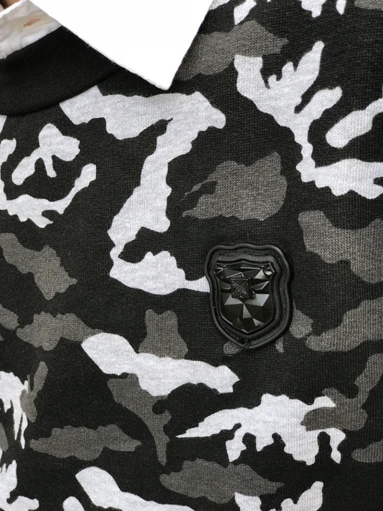 Jongenssweater, jongens trui, camouflage print, LCEE sweater, kindermodeblog