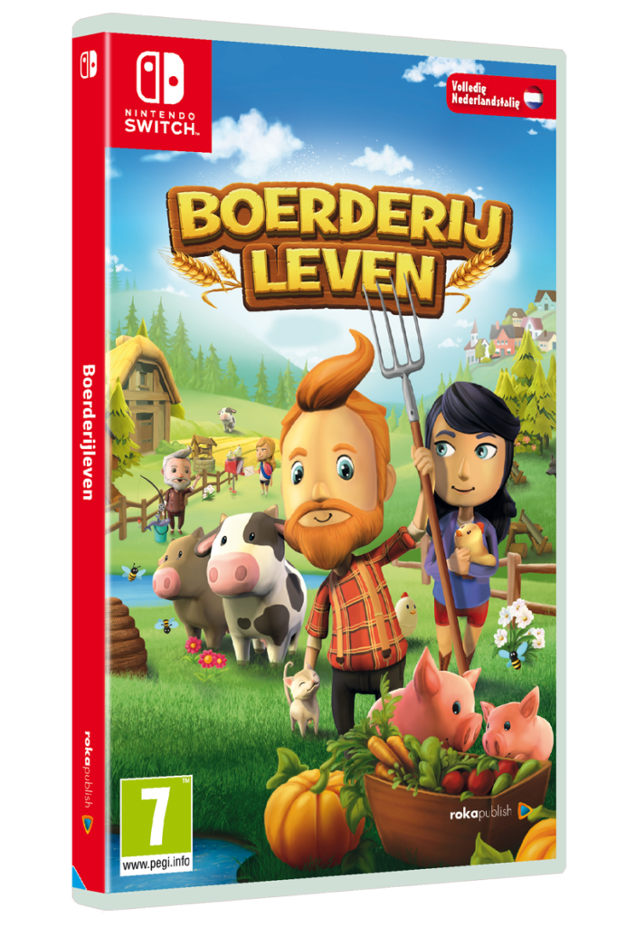 boerderij leven, boerderijleven, boerderij game, nintendo switch game