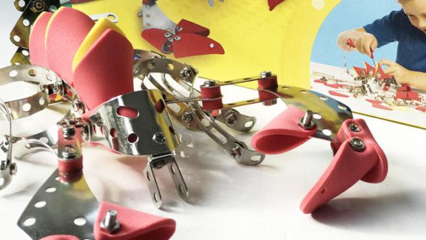 constructiespeelgoed, bouwspeelgoed, SES bouwpakket, meccano bouwpakket