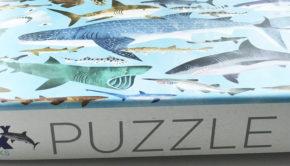 crocodile creek puzzel, puzzel haaien