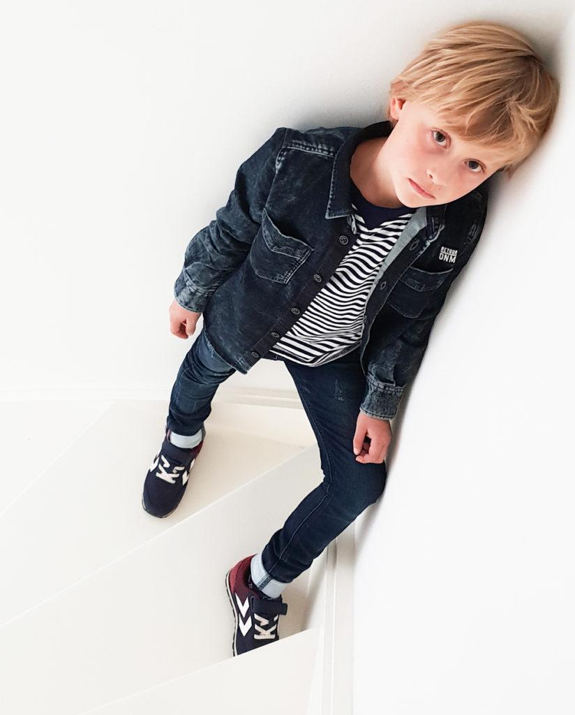 denim days, denim outfit boy, spijkerbroek jongen , spijkerblouse jongen