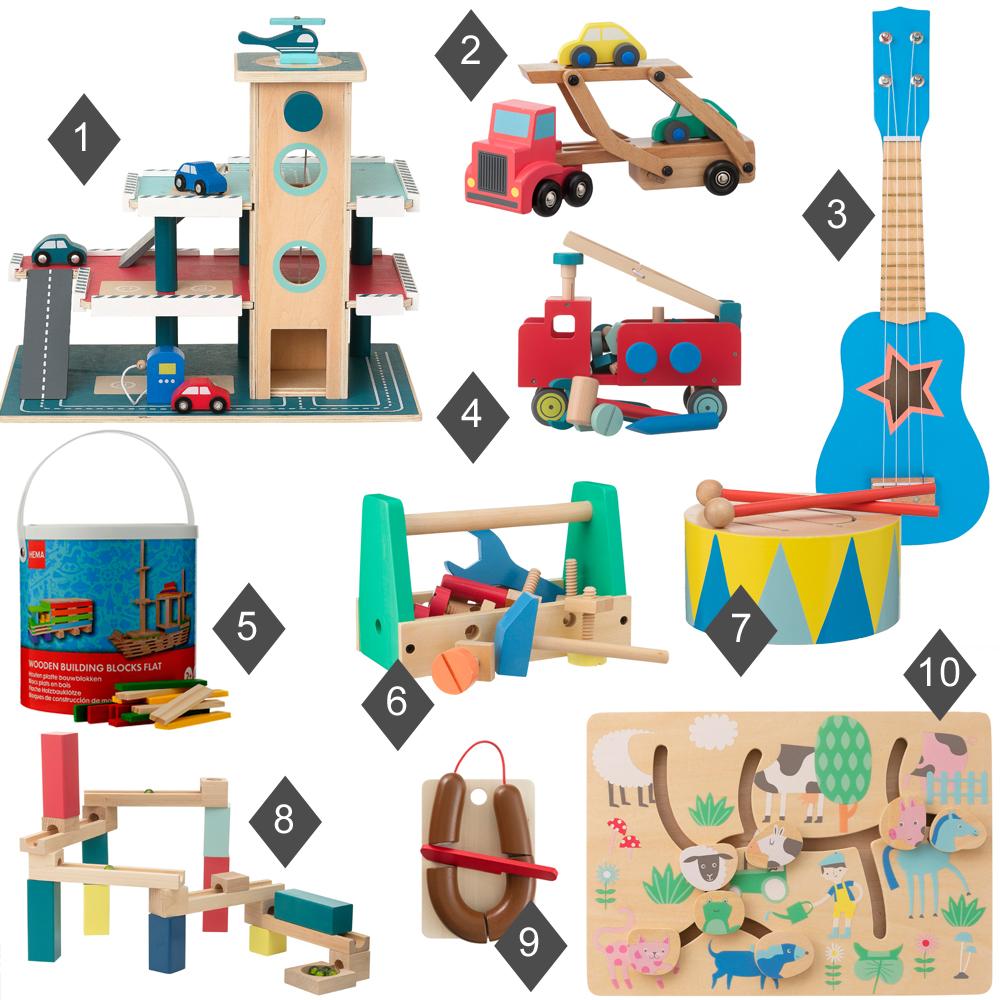 goedkoop houten speelgoed, jongens speelgoed, houten speelgoed hema