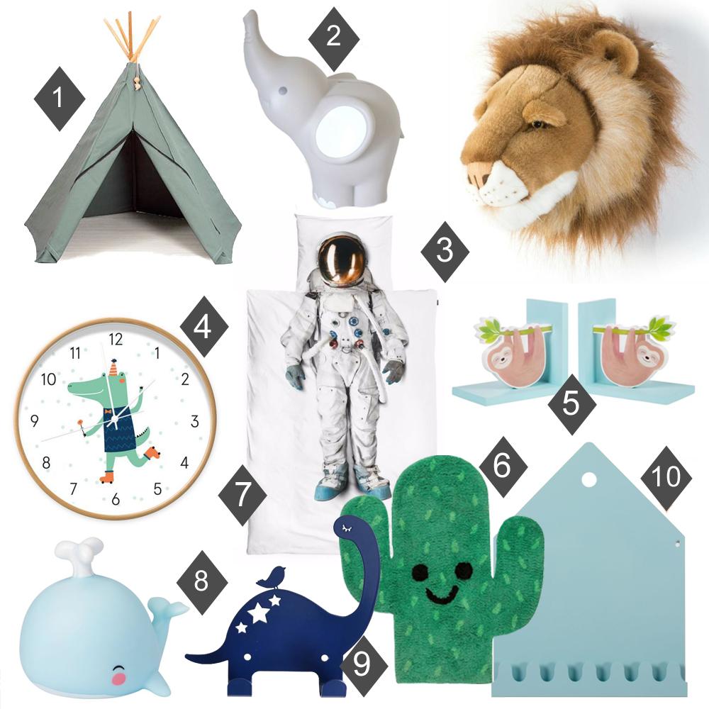 kidsdecoshop, kinderkamer accessoires, jongenskamer accessoires